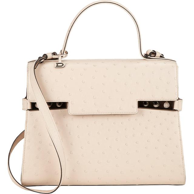A Delvaux Tempete 4,3 millió forintot kér strucc bőr táskájáért.