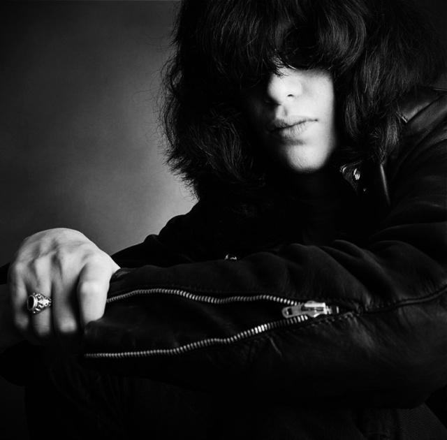 Joey Ramonet 1987-ben fényképezte.