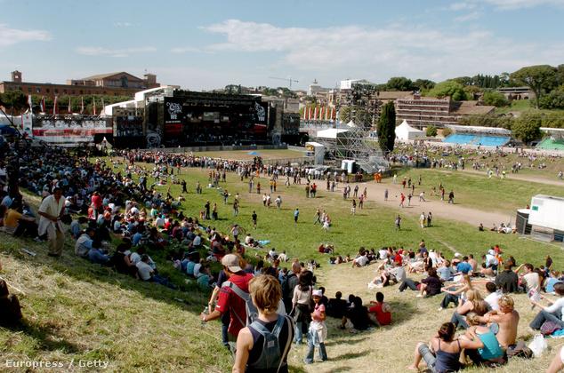 A Circus Maximums-on néha koncertek is vannak
