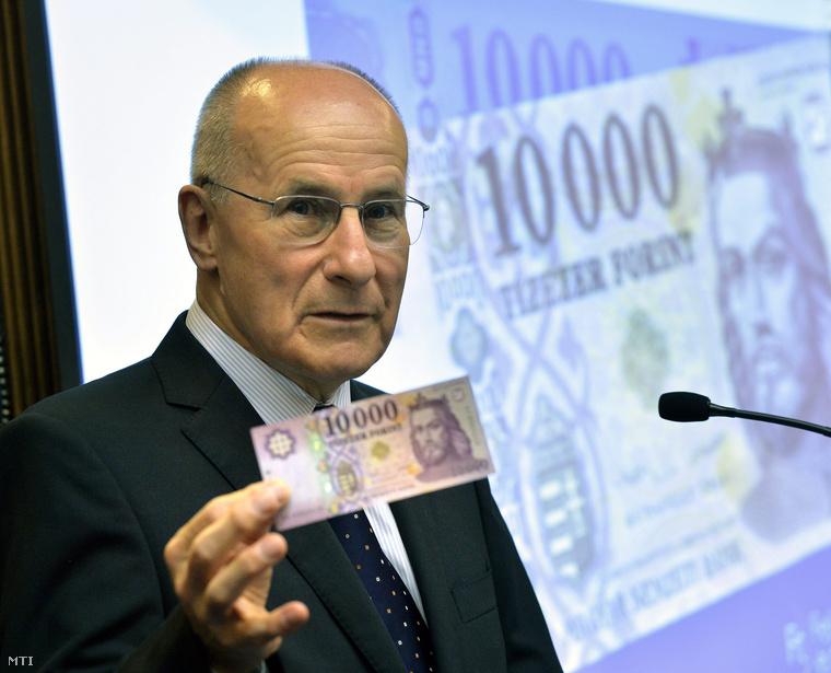 Gerhardt Ferenc, az MNB alelnöke