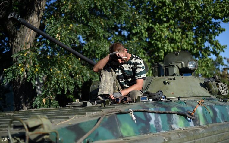 BMP-2 Donyecktől délnyugatra