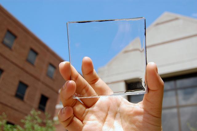 Így nézne ki a napelemes ablaküveg