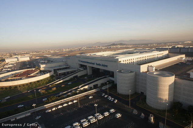 A Benito Juárez Nemzetközi Repülőtér látképe