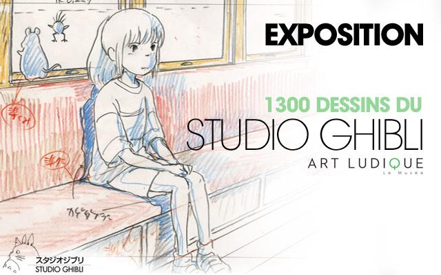 Október 4. és március 1. között lesz látogatható a Studio Ghibli kiállítása.