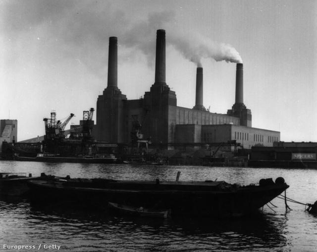 A hőerőmű az 50-es években