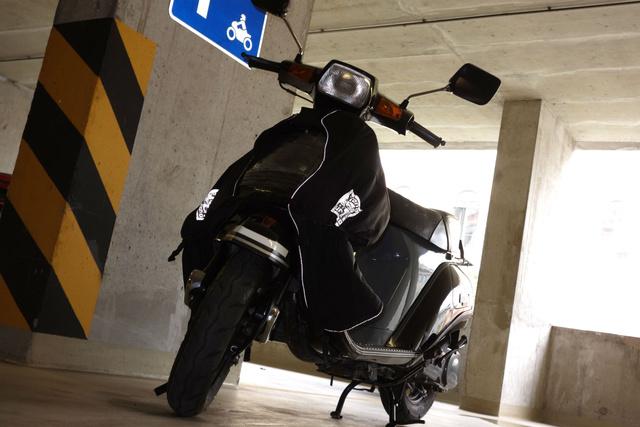 Most épp Suzuki Gemmám hordja a Tucanót, Ugyanazt a Tucanót, amit az Aprilia Gulliverre vettem