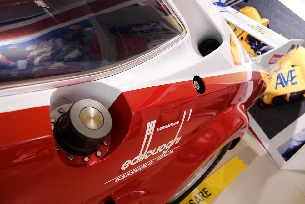 Gyorsbetöltő a Le Mans-i tankolásokhoz a NART 308-ason