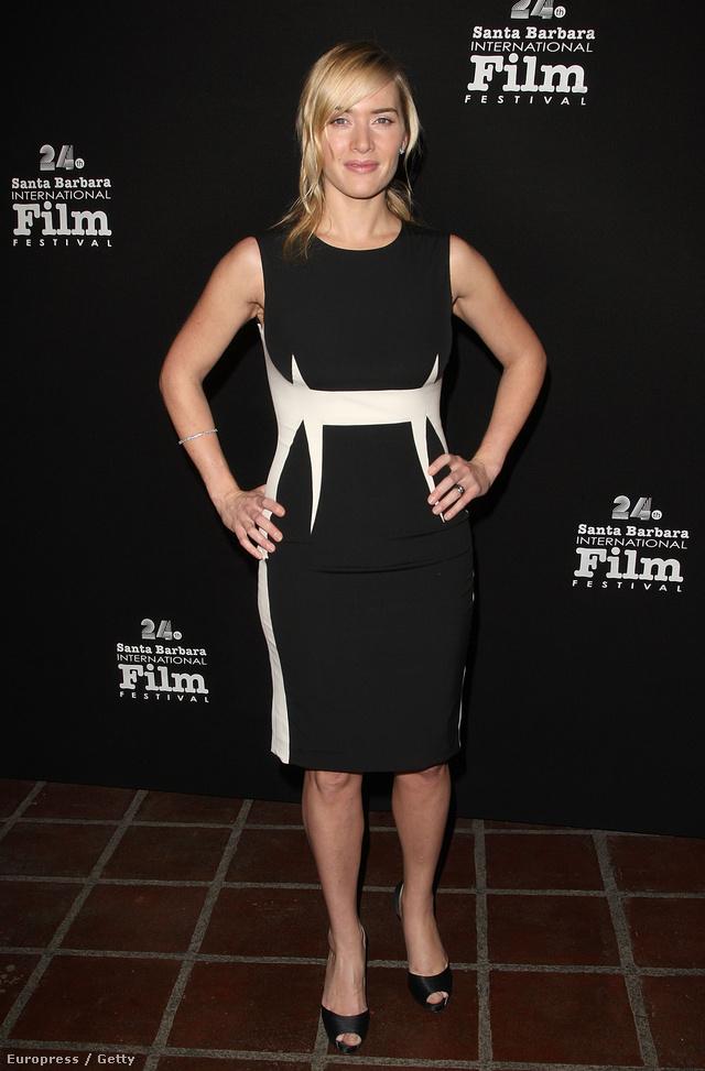 Winslet egyik kedvenc tervezője Narciso Rodriguez, aki számos fekete-fehér színű ruhakölteményt készített már a színésznőnek. Egyik kiváló példa ez a 2009-es darab, melyet a Santa Barbara Filmfesztiválon viselt a színésznő.