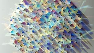 Háromdimenziós üvegszivárványt minden falra!