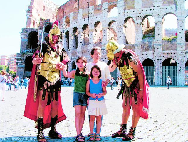 A gyerekek imádják Rómát