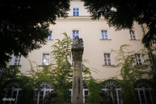 Az Egyetemi templom mellett van a Központi Papnevelő Intézet, melynek belseje egy eldugott kertet rejt.