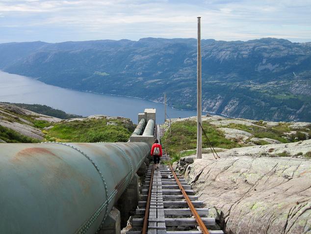 Florli lépcsők, Norvégia