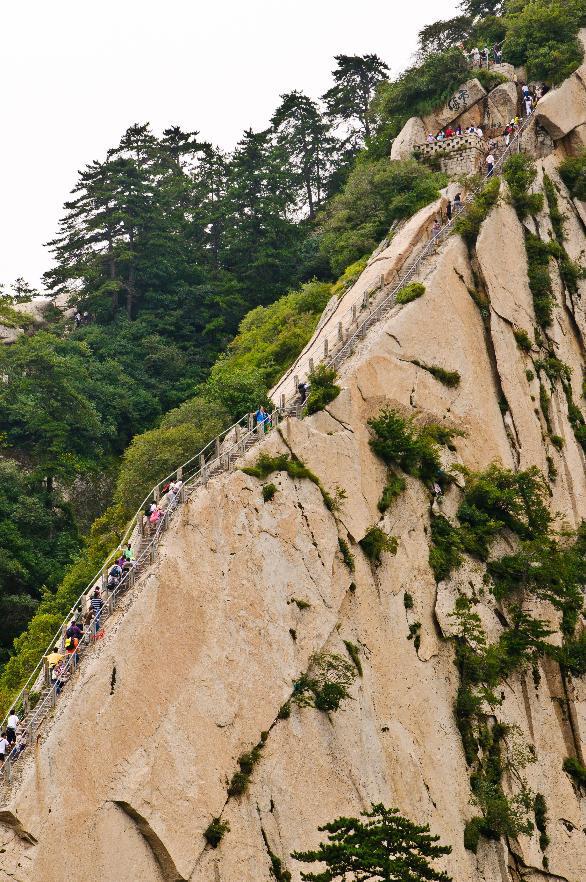 Huashan-hegy, Kína