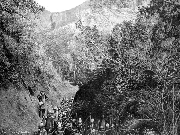 Expedíció Madagaszkáron, 1895.