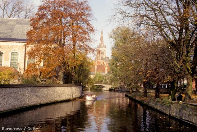 Bruges ősszel