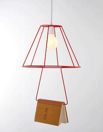 Könyvjelző és lámpabúra egyben