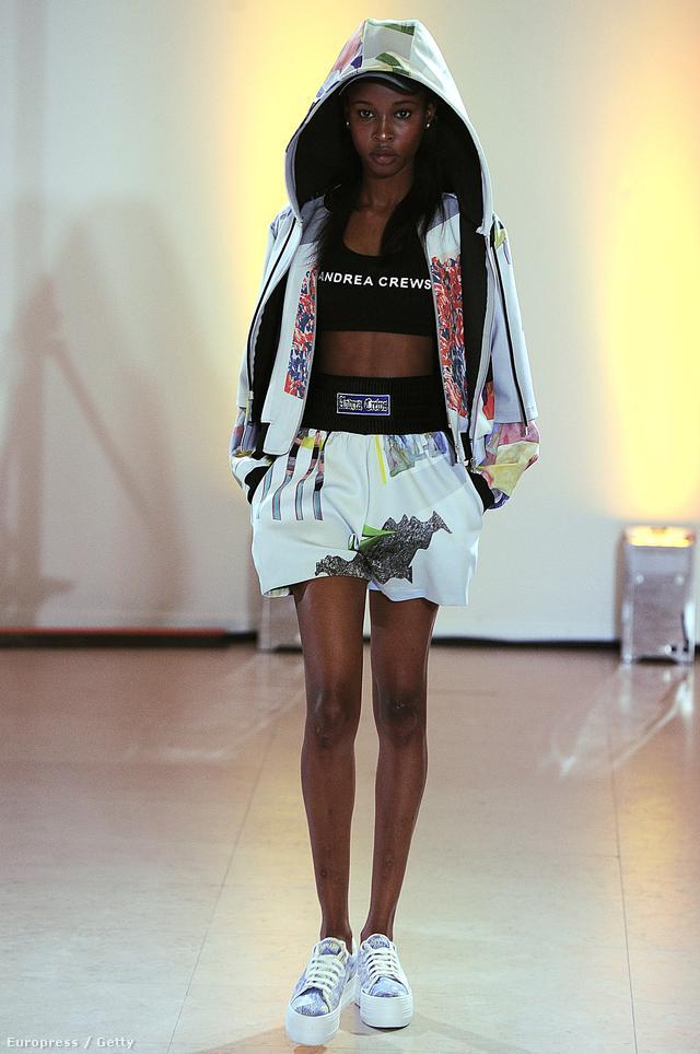 A kapucnis pulóver 2014-ben merész grafikai mintákkal a legmenőbb, amit javasolt haspólóval, szoknyával, vagy boxer nadrágnak tűnő rövidnadrággal párosítani.
