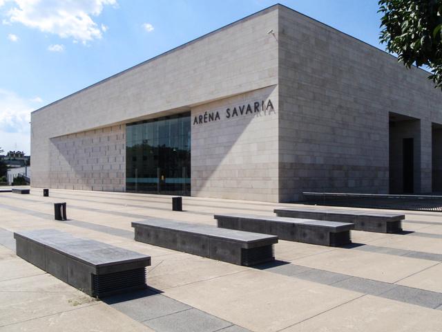 Az Arena Savaria épülete Szombathelyen