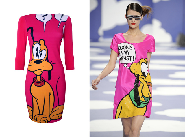 A Sugarbird ruhája 29990 forint. Jean Charles de Castelbajac 2009-es tavaszi-nyári kollekciójában küldött kifutóra hasonlót.