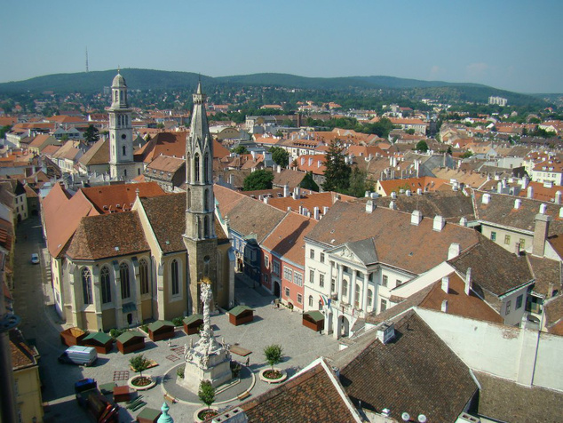 A Soproni Múzeum látképe
