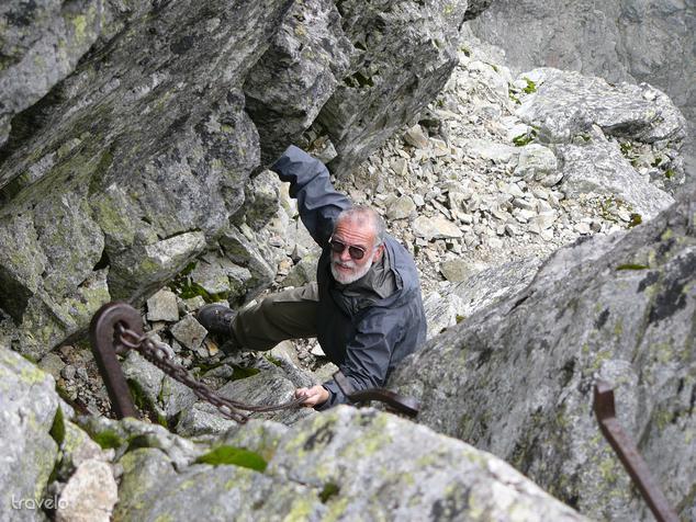 A Lomnici-csúcs felé több százszor megtette az utat