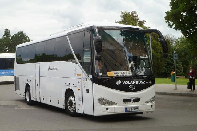 King Long XMQ 6127 Egerben (fotó: Kárpátbusz)