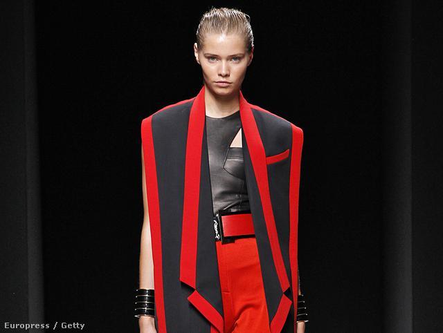 Divatban marad a piros: Balmain Ready to Wear