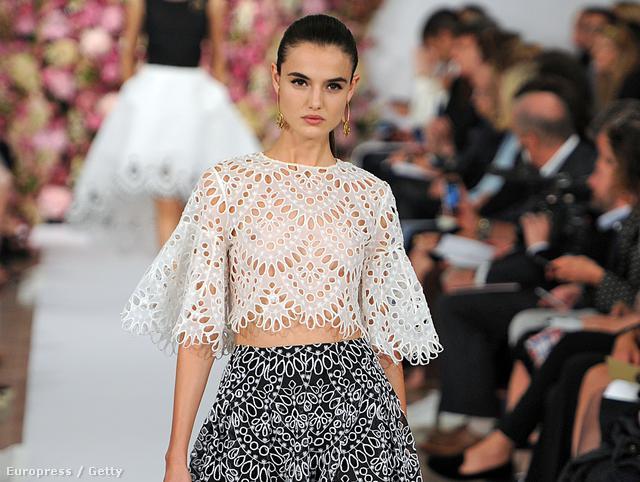 Örök klasszikus, a csipke: Oscar De La Renta fashion show