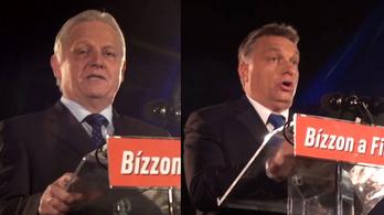 Tarlós: Mégse annyira liberális ez a város - Orbán: 2/3 fölötti győzelem