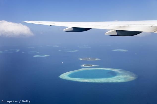 A Maldív-szigetek a levegőből