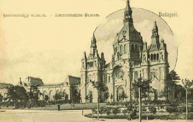 A Közlekedési Múzeum épülete ma és fénykorában - amilyenre a tervek szerint visszaállítják