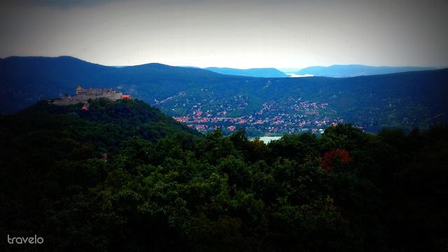 Kilátás a Zsitvay-kilátóból