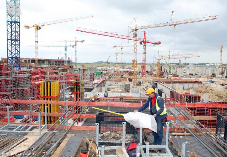 Építkezés Berlinben
