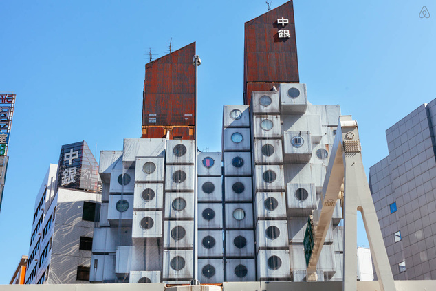 Historical Nakagin Capsule Tower