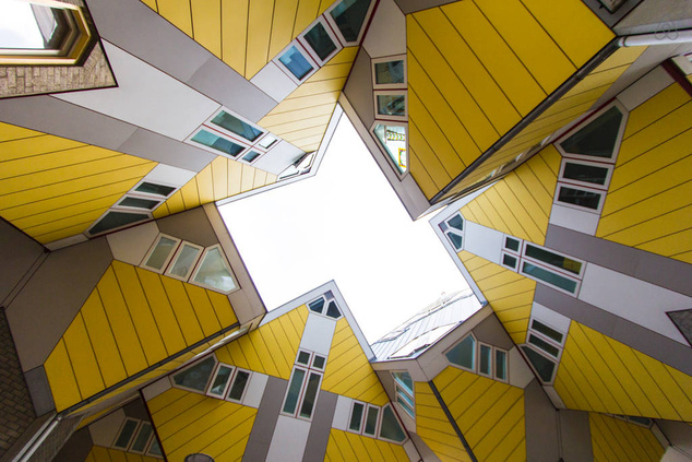 Cubehouse in centre of Rotterdam