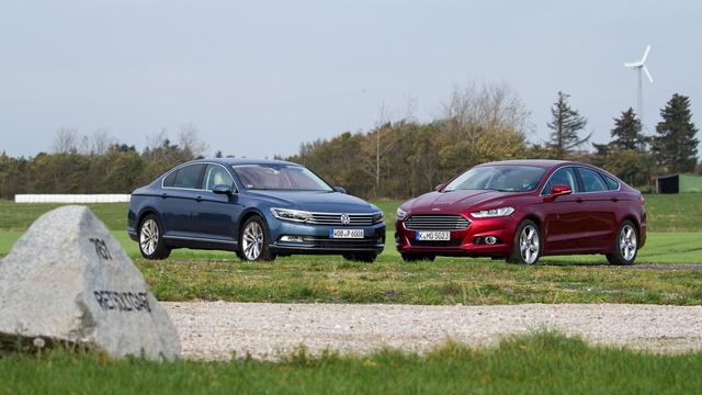 Épp egy hangyányival nagyobb a Ford minden irányban, de a különbség szinte észrevehetetlen