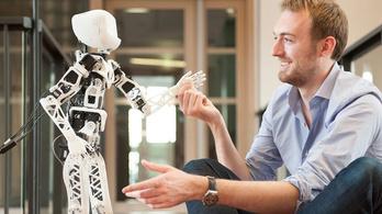 3D nyomtatható robot tanulóknak