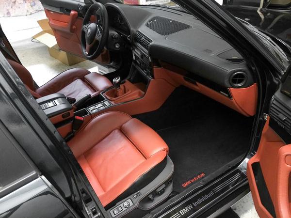 Viktor saját BMW E34-e