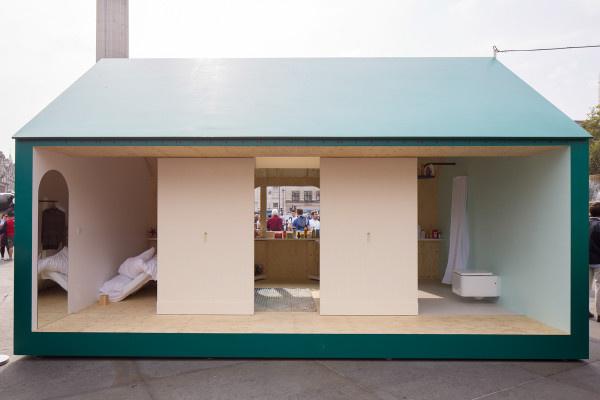 A londoni dizájner, Raw Edges egy flexibilis otthont hozott létre.