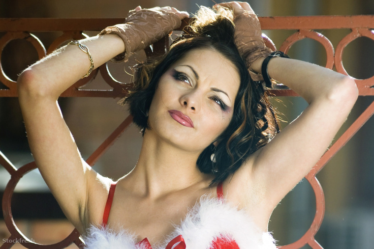 stockfresh 245854 girl-wearing-santa-claus-clothes sizeM