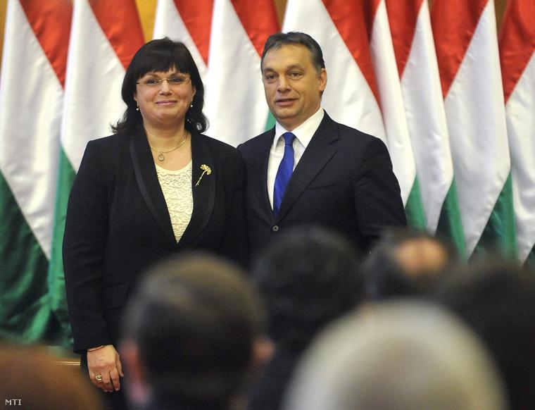 Lengyel Györgyi és Orbán Viktor (2010.)