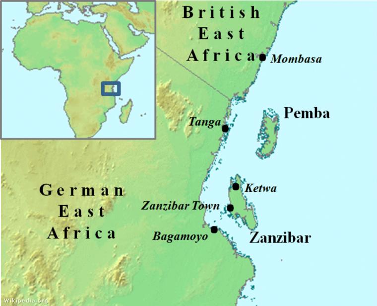 Anglo-Zanzibar war map.png