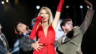 Taylor Swiftre verette a híradós, kollégája szemmel verte