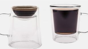 Dupla bögre a kávé-ínyencekre szabva