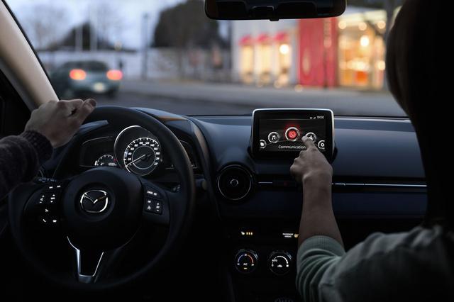 Mazda2 2014 interior 9