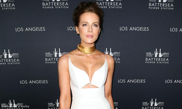 "Kate Beckinsale egy ""Battersea Power Station Global Launch Party"" nevű buliban Los Angelesben csütörtök este"