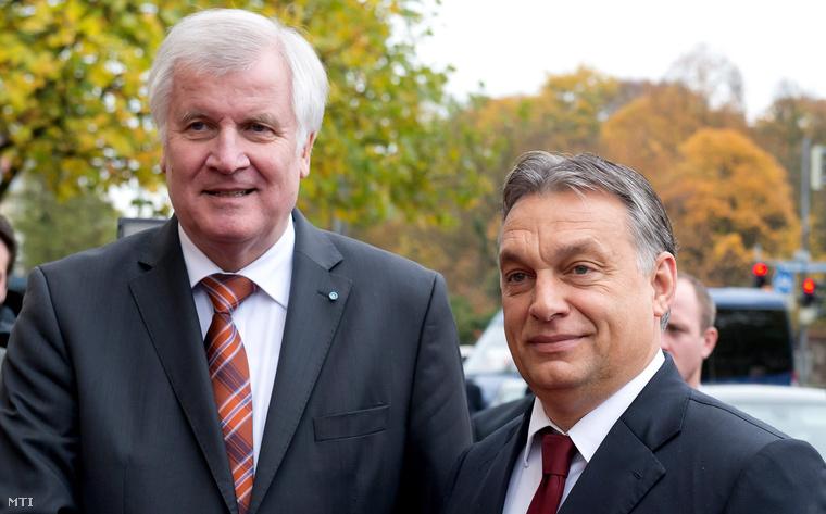 Orbán és Seehofer múlt csütörtökön