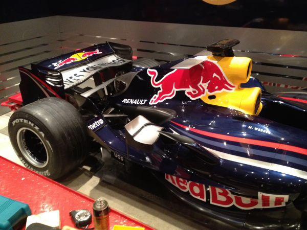 Mark Webber S Red Bull Rbr3 F1 Car Goes Up For Sale