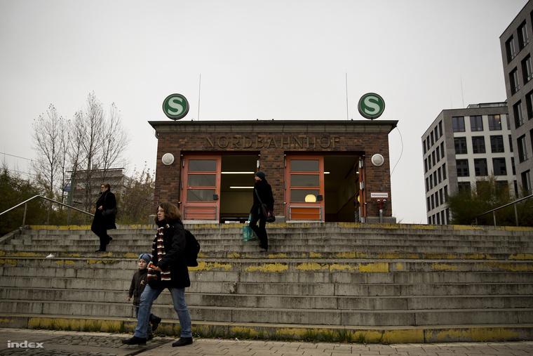 A Nordbahnhof ma.