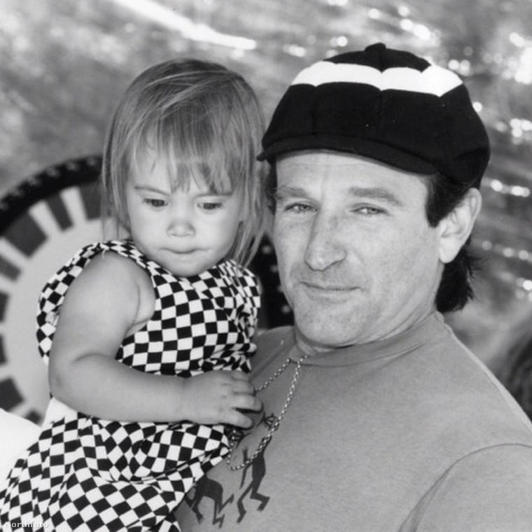Robin Williams és lánya, Zelda